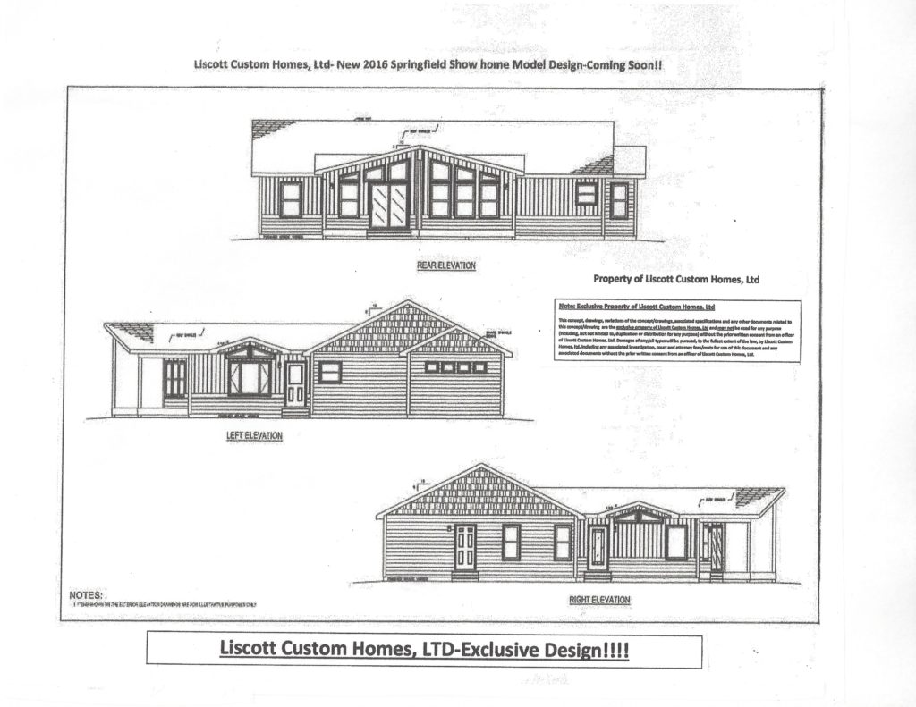 Liscott new prow ranch design liscott custom homes ltd for Prow style house plans