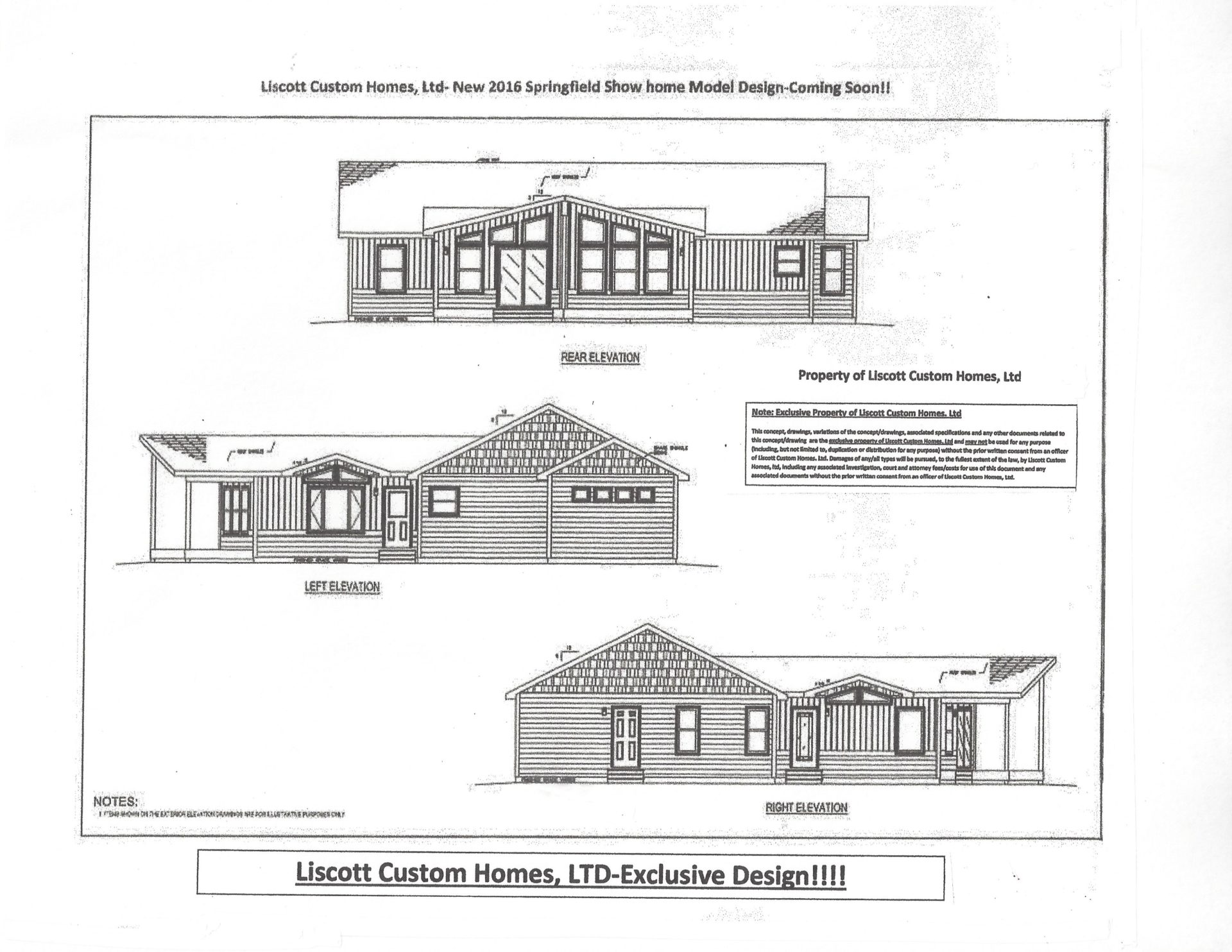 Liscott- New Prow Ranch Design - Liscott Custom Homes, Ltd.
