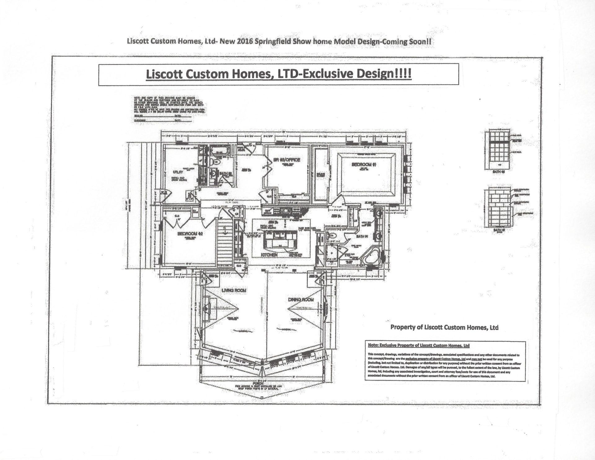 Liscott new prow ranch design liscott custom homes ltd for Prow home plans