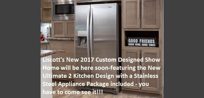 Liscott New 2017 Show Home- UK2 Kitchen Package-Stainless Steel Appliances